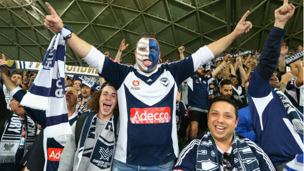 Melbourne Victory Supporter
